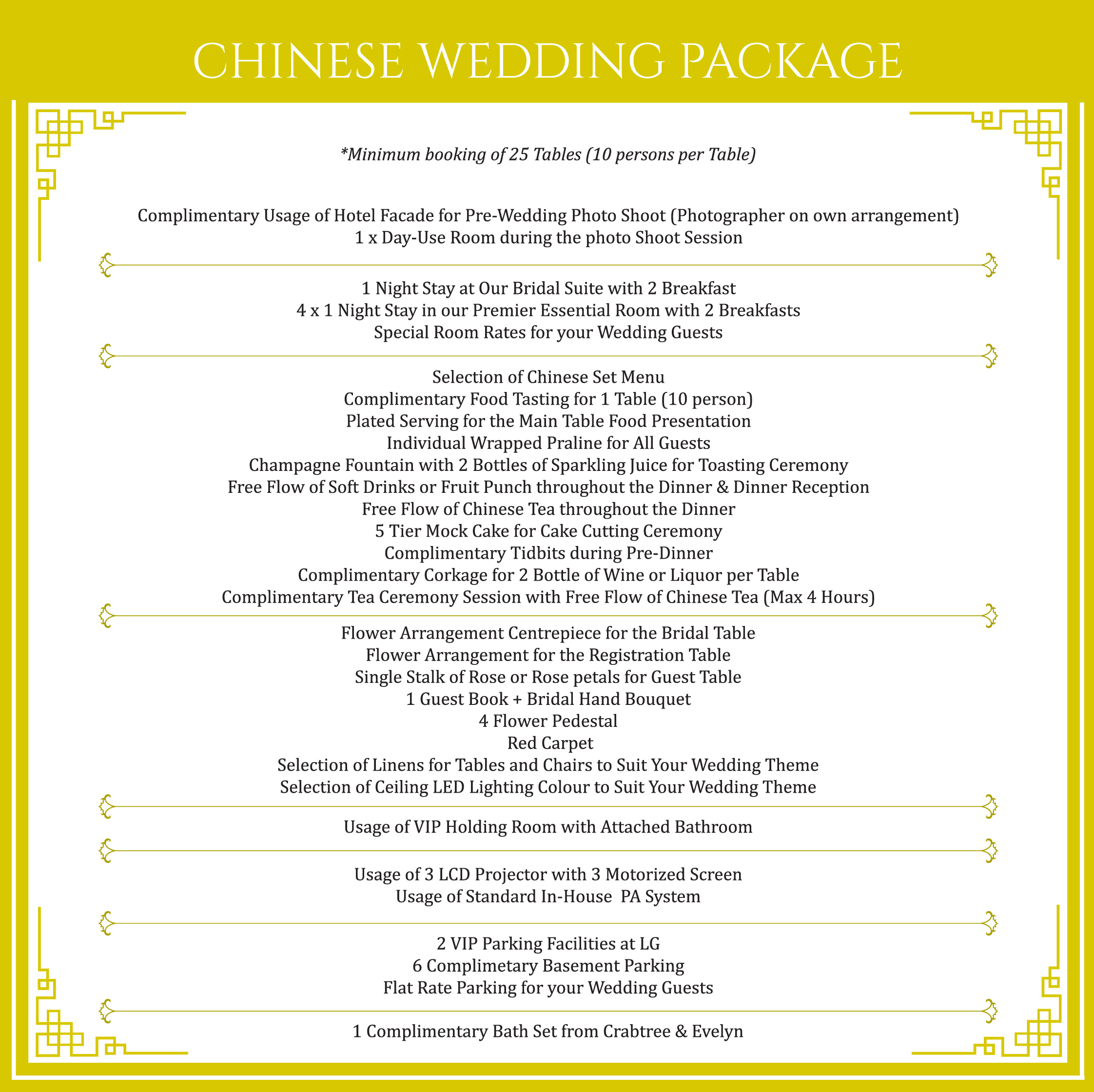Image Malay Themed Wedding Package